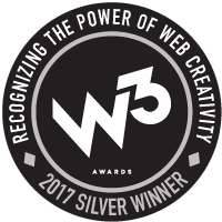 W3 Awards 2017 Silver Winner